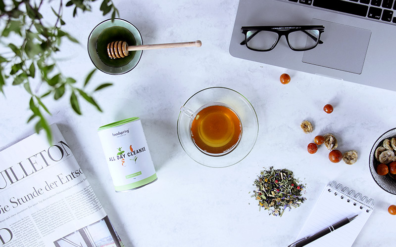 tasse d'infusion cleanse
