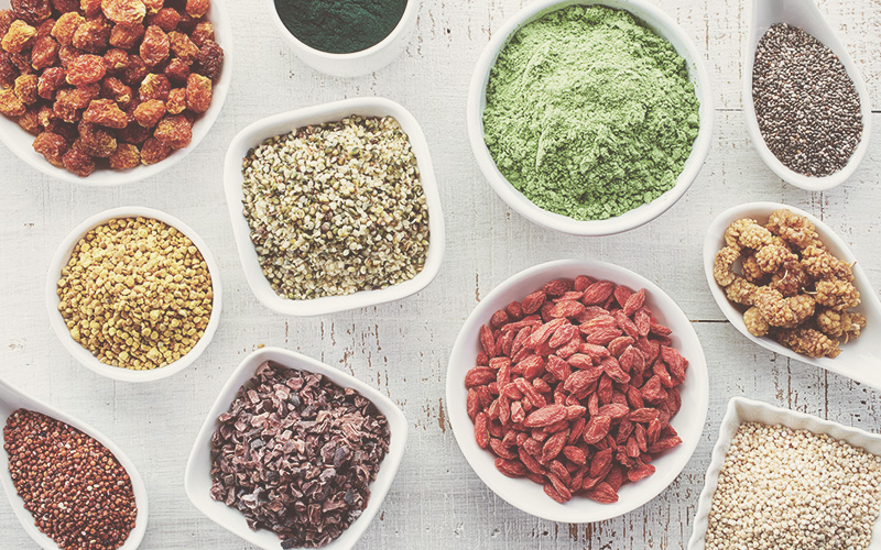 Mahlzeitentiming - Meal Preperation mit Superfoods