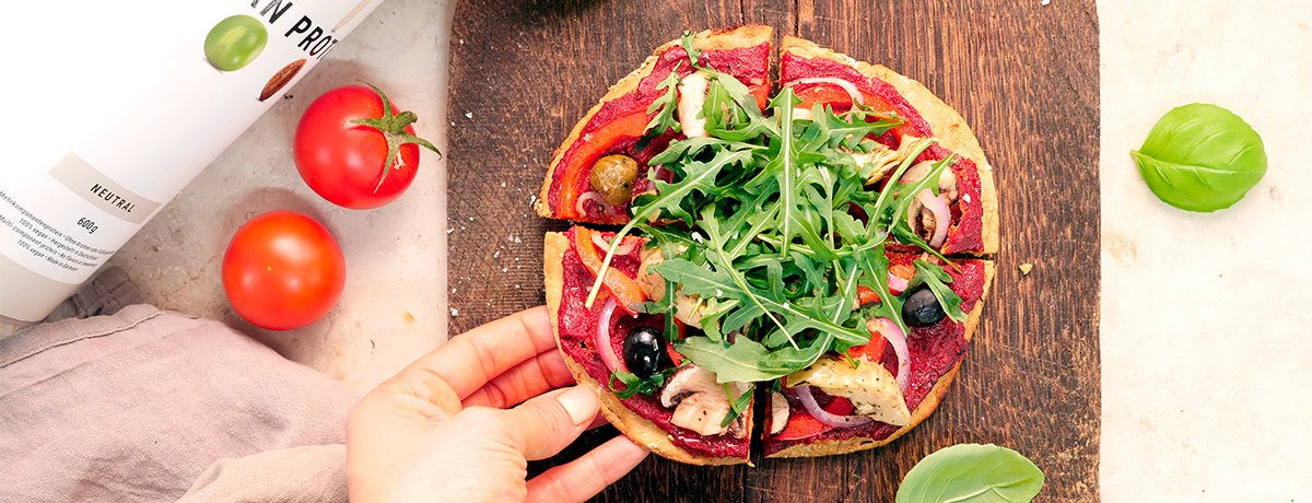 Low Carb Pizza Teig