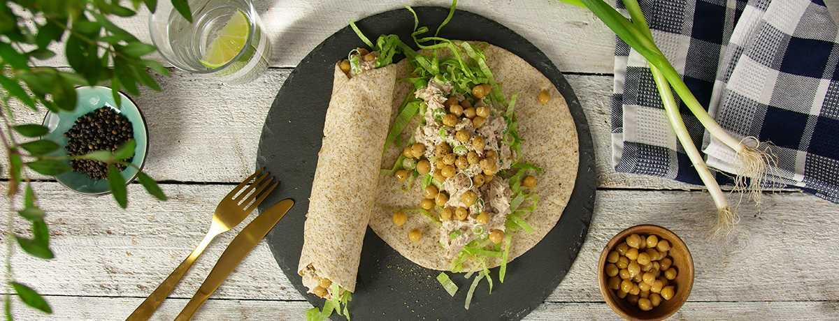 Thunfisch Wrap