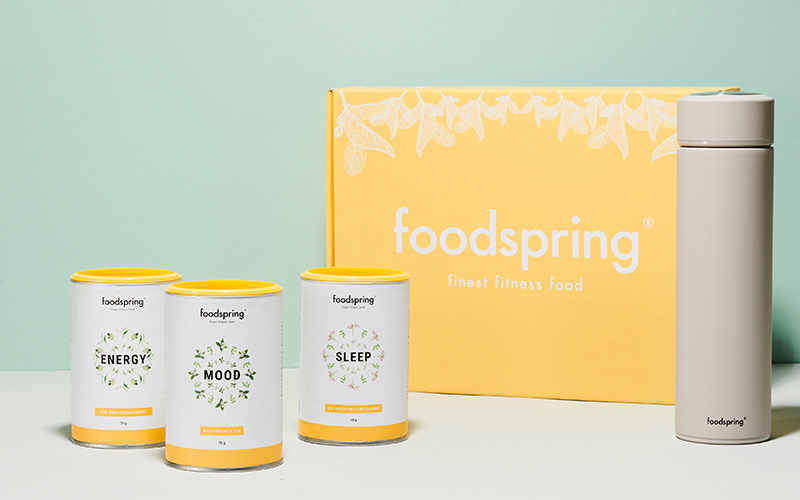 Sets d'infusions foodspring All-Day Vitality