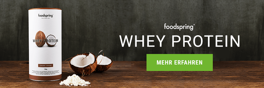 Banner foodspring Whey