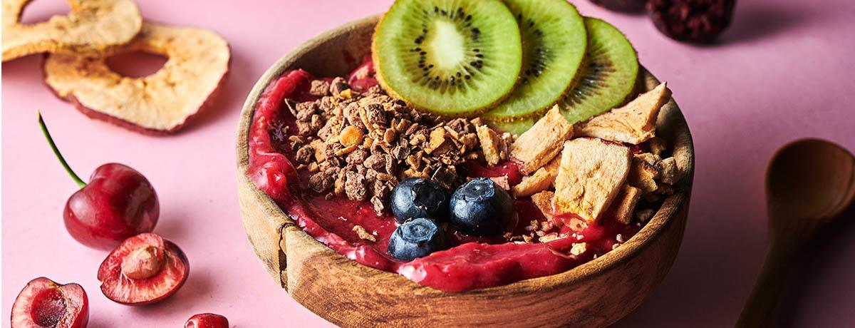Vegane Smoothie Bowl