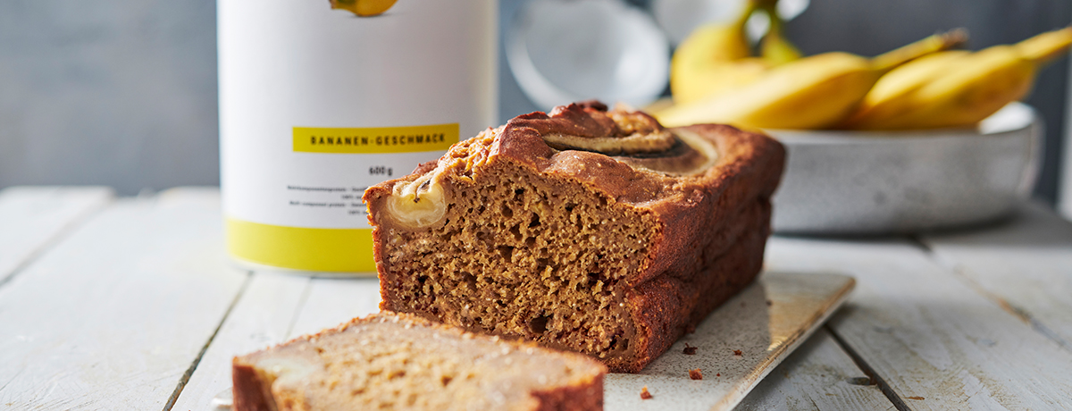a photo of deep brown vegan banana bread, which can help you produce leptin when you feel full