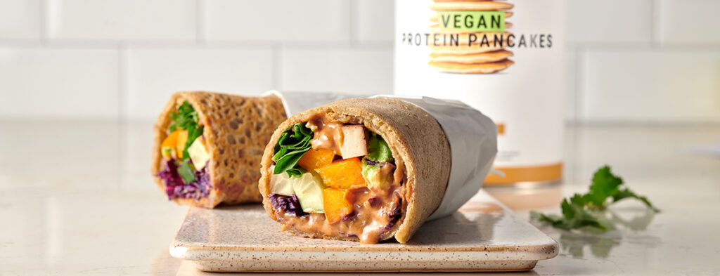 Vegane Rainbow Wraps