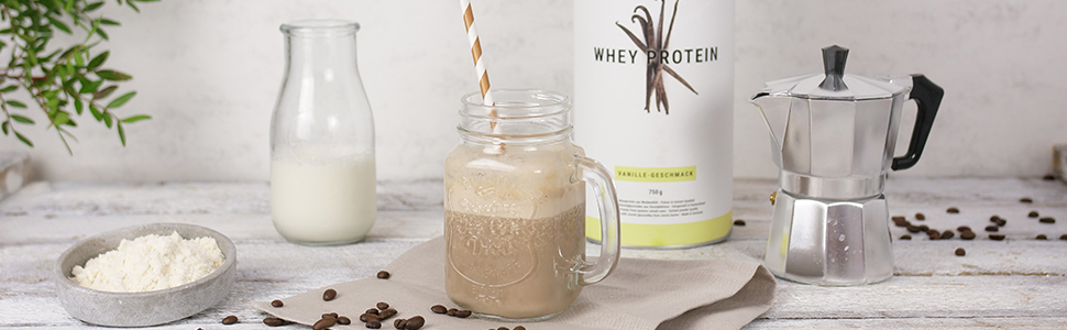 Espresso and Whey Shake